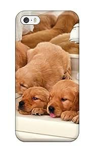New Fashion Premium Tpu Case Cover For Iphone 5/5s - Dog wangjiang maoyi