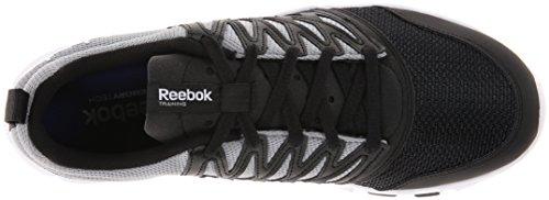 0l D'entraã®nement De Yourflex Chaussure 5 Reebok white Grey flat Rs Black YqS1HUUf