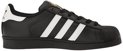 adidas Originals Damen Superstar Fashion Sneakers Schwarz / Weiß / Metallic / Gold