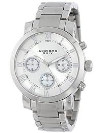 Akribos XXIV Women's AK623SS Grandiose Chronograph Stainless Steel Bracelet Watch