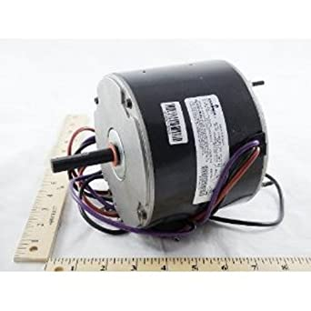 Oem upgraded trane american standard 1 8 hp 230v condenser for Trane fan motor replacement cost