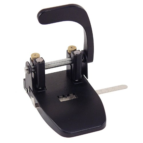 (Officemate Heavy Duty 2 Hole Punch with Lever Handle, 40 Sheet Capacity, Black (90072))