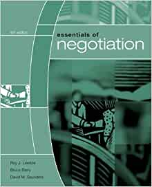 essentials of negotiation 4th edition pdf