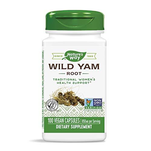 Nature's Way Wild Yam Root, 850 mg per serving