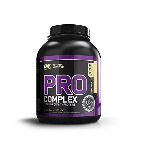 Optimum Nutrition Pro Complex Protein Powder, 1.44 kg, Vanilla