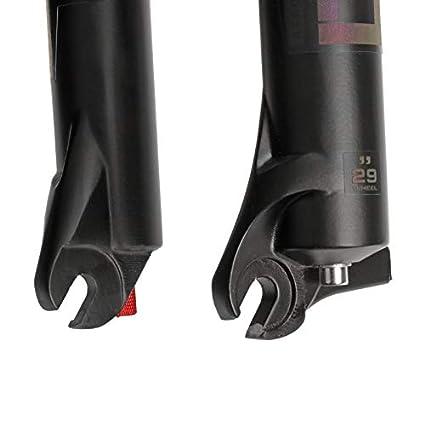ETbotu Forcella MTB 100mmTraver 32 RL 29er inch Suspension Forcella conica ASSE Conico Dritto 26 Pollici #1 doro