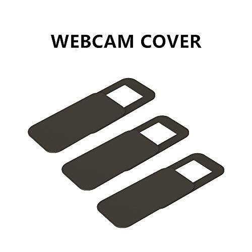 Webcam Cover, 0.027 inch Ultra-Thin Laptop Webcam Cover Slider Camera Cover for MacBook Pro, Laptop, Mac, PC, Surfcase Pro, Protecting Your Digital Life, 3 Pack
