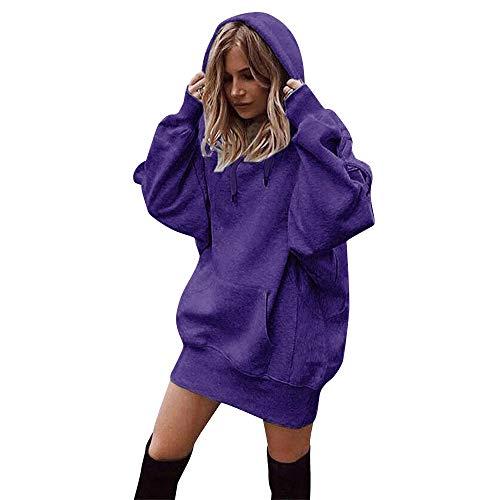 Promition! Women Hoodies,Sunyastor Fashion Ladies Long Sleeve Blouse Hooded Sweatshirt Pullovers Casual Pocket Tops T-Shirt