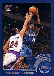 2002-03 Topps #10 Michael Jordan Wizards
