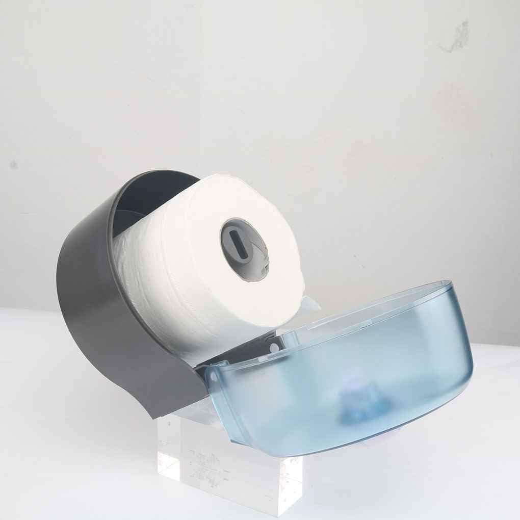 Morza Ronda Titular del Rollo de Papel de Pared Papel higi/énico Dispensador de Habitaciones de Descanso higi/énico Impermeables Soporte de Papel
