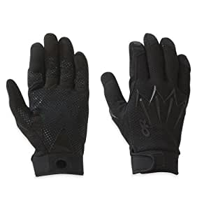 Outdoor Research Halberd Gloves, All Black, Small