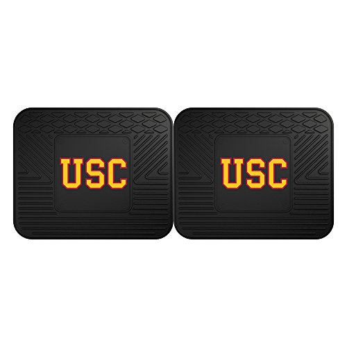FANMATS 12297 University of Southern California Utility Mat - 2 Piece, 14
