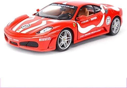 カーモデル、モデルカー1時24フェラーリレーシングクラシックスポーツカーモデルコレクションスポーツカーシミュレーションの合金の車