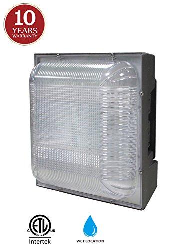 LED Canopy Light 75W (175-300W HPS/MH Equivalent), 8.8