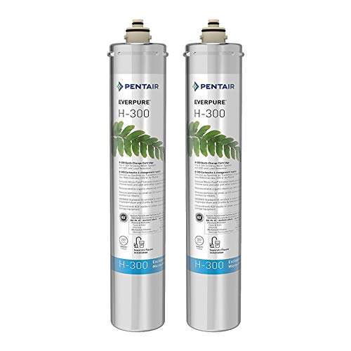 - Pentair Everpure H-300 Undersink Water Filter Replacement Cartridge (2 Pack)
