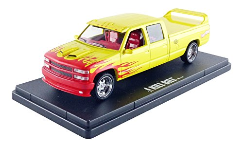 "Price comparison product image 1997 Custom Crew Cab Pussy Wagon Pickup Truck ""Kill Bill Vol. 1 & 2"" Movie (2003) 1 / 43 by Greenlight 86481"