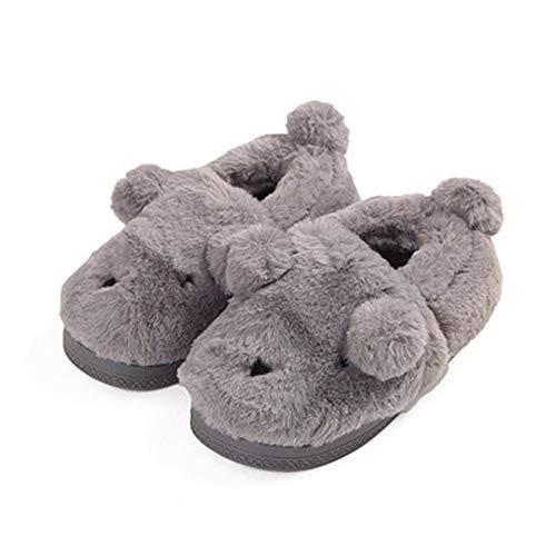 Confortevole Grey Interno Scivolare Famiglia Di Cotone Comfort Pantofole nbsp;jds Fortuning's Scarpe Montato Su S7IXq