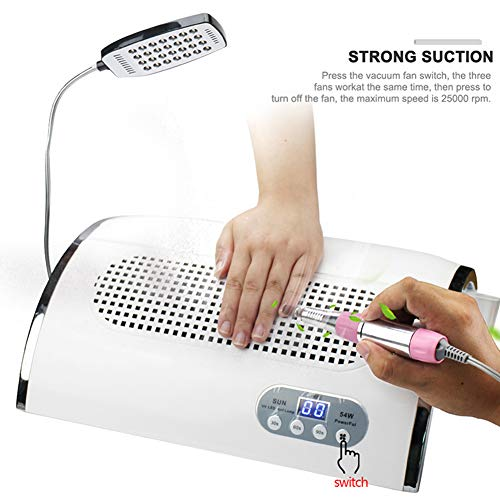 Buy manicure lamp led uv fan for table
