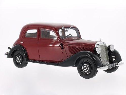 ★ レプリカーズ B (1/18) メルセデス・ベンツ 170V 39 レッド/ブラック (BOS006)車模型の商品画像