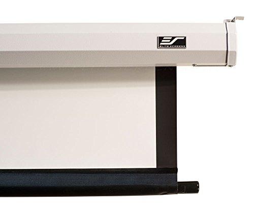 "Elite Screens VMAX2, 106-inch 16:9, 24"" Drop, Electric Motorized Drop Down HD Projection Projector Screen, VMAX106XWH2-E24"