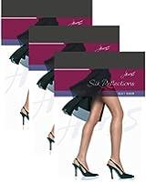 Hanes Women`s Set of 3 Silk Reflections Non-Control Top RT Pantyhose