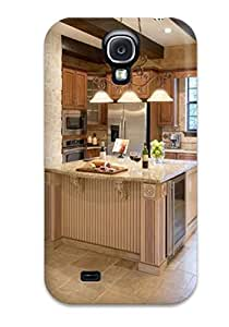 Premium Protection Warm Kitchen With Stone Arch Case Cover For Galaxy S4- Retail Packaging