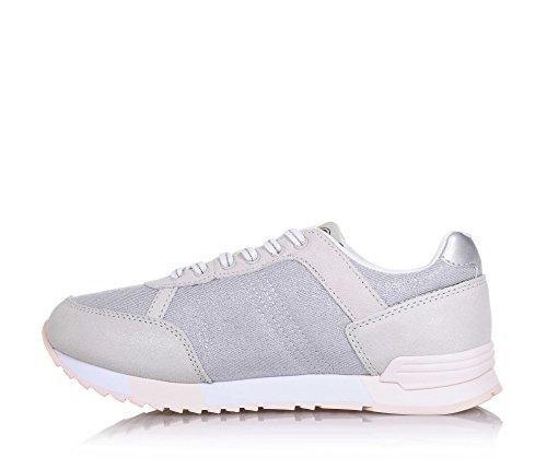 Colmar Scarpe Sneaker Ragazza Argento Beige KG5-TRAV B-Y27