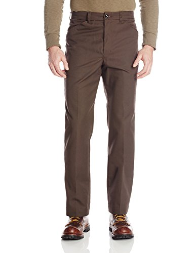 (Red Kap Men's Jean-Cut Pant, Chocolate Brown, 33x30)