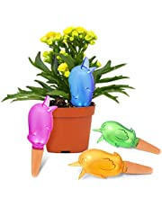 Plant Watering Spikes Self-Watering Devices Watering Bulbs for Plants Drip Irrigation Auto Watering Terracotta Stakes Waterer for Outdoor Indoor Hanging Plants