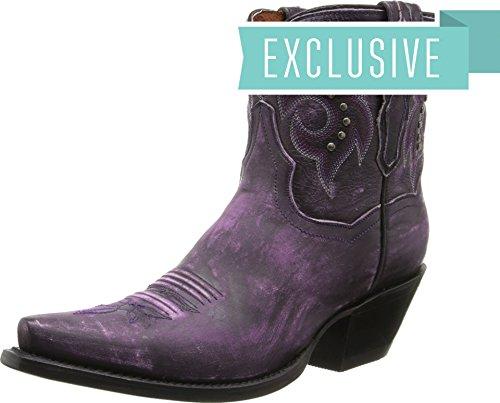 Studs Dan Flat Vintage Iron Post Womens Purple qIIw7f
