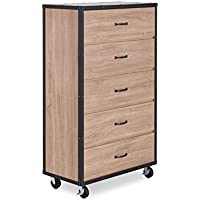 ACME Furniture 97274 Bemis Chest, One Size, Weathered Light Oak