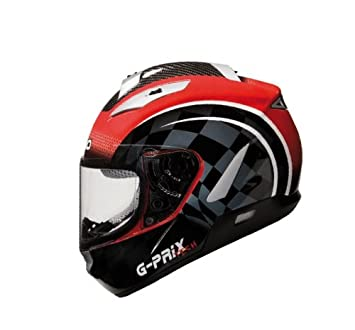 CASCO SHIRO INTEGRAL SH-7000 G-PRIX TECH ROJO