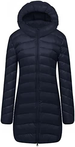 Cloudy Arch Women's Lightweight Packable Hooded Down Coat