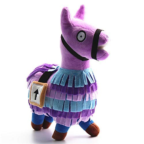 Loot Llama Plush Stuffed Toy Doll Firgure for Great Game Fans,7.8inch Video Game Troll Stash Animal Alpaca Toy for Kids Girls Boys Children Party Favor by GRACEON