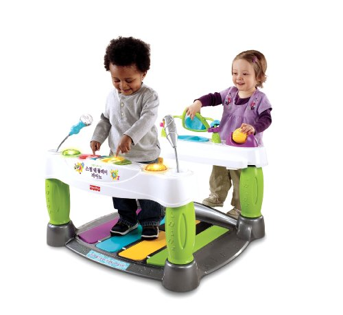 Fisher-Price Little Superstar Step N' Play Piano, Baby & Kids Zone