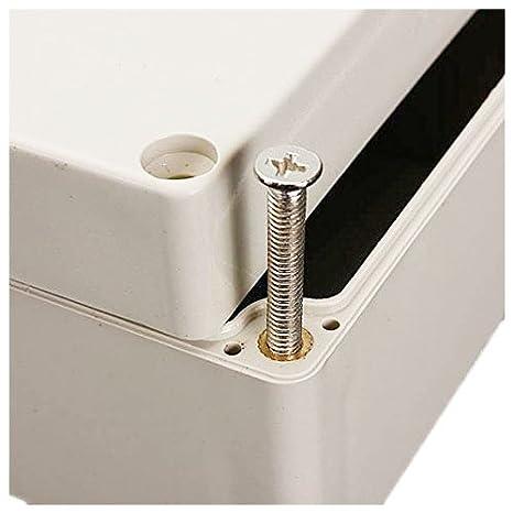 SODIAL Boitier electronique en plastique en plastique ABS IP65 Boite de connexion electronique impermeable Boitier de logement Prise de courant IP65 IP65 158 x 90 x 60