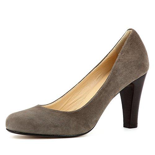 Taupe Daim Shoes Maria Femme Escarpins Evita SfxCgqPg