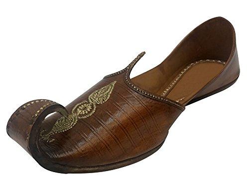 Step n Style Mens Khussa Shoes Mojari Punjabi Jooti Ethnic Hippy Rajasthani Jaipuri