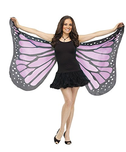 Soft Butterfly Wings Costume Accessory,Purple, OS - Adult Halloween Costumes Cheap