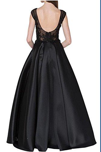Abendkleider Braun Ballkleider Dunkel Braut Rock Brautmutterkleider Satin Tanzenkleider Herrlich Linie La mia Orange A Lang wax0Bxg