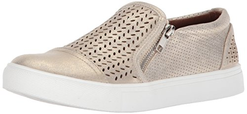 Report Women's Alexa Sneaker, Gold, 8.5 M US
