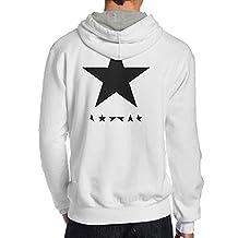Men David Bowie Blackstar Sweatshirts Cool Pullover Hoodies Funny