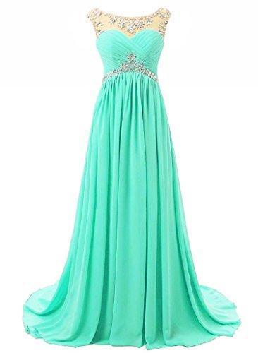 aqua dresses for prom - 7