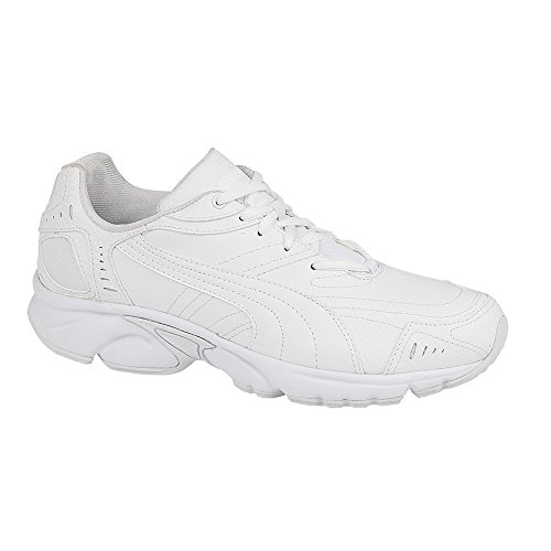 Puma Axis Hahmer Hommes Non-marking Trainer Blanc Taille 9