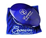 cqp hair brush - Crown Quality Products 360 Gold Mixed Boar Bristle Caesar Wave Brush Medium