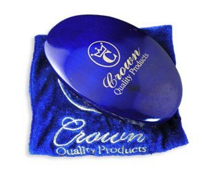 Crown Quality Products 360 Gold Mixed Boar Bristle Caesar Wave Brush Medium by Crown Quality Products