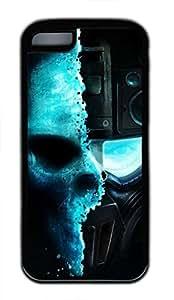 MMZ DIY PHONE CASEHot iphone 5c Case - Cool Skull Sniper Lovely Milk Bottles Funny Lovely Best Cool Customize iphone 5c Cover TPU Black