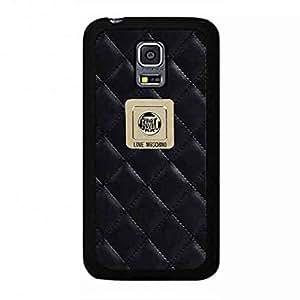 Luxury Brand Samsung Galaxy S5Mini Moschino Phone Case,Moschino Pattern Luxury Logo Back Cover For Samsung Galaxy S5Mini