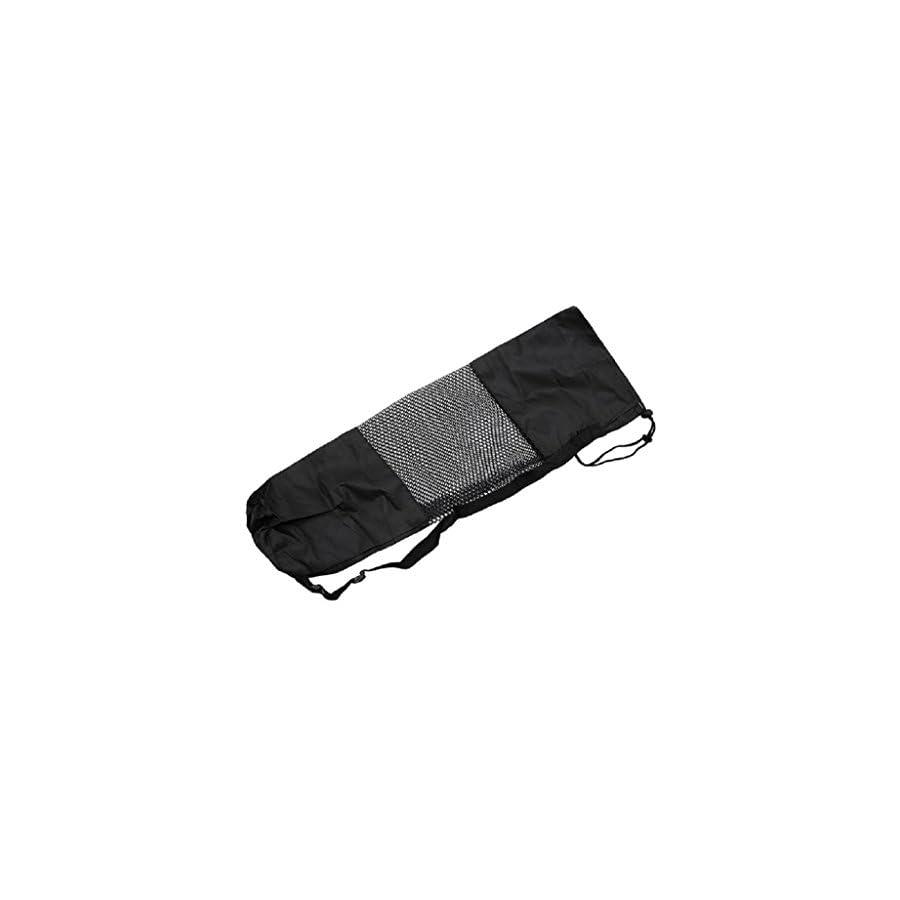 SCASTOE Adjustable Strap Nylon Yoga Pilates Mat Carrier Bag Mesh Center Case