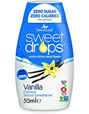SweetLeaf - Edulcorante Sweet Drops de sabor vainilla, 0,1 kg